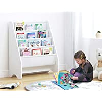 UTEX KIDS Sling Bookshelf, Magazine Rack - Book Rack for Kids,Book Organizer ...