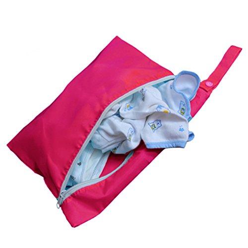 Fora Para Gravata Armazenamento Qhgstore De Suja Rosa Bebê Vermelha Roupa Saco De Dobramento Saco 1wExSAxq