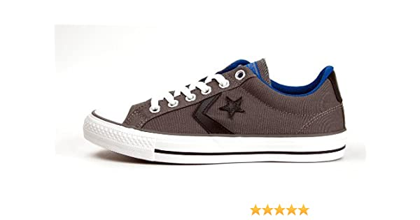 15774fa83926 Converse Star Player Ev Ox Shoes - Charcoal - UK 7  Amazon.co.uk  Shoes    Bags