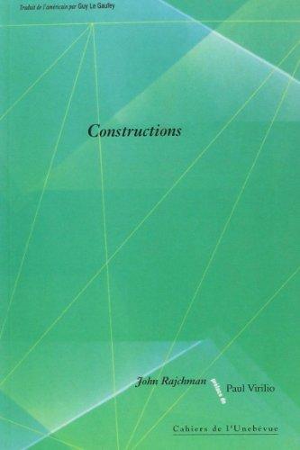 Constructions (Cahiers de L'Unebévue)