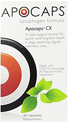 Apocaps CX Apoptogen Formula for Dogs (90 capsules) from Functional Nutriments