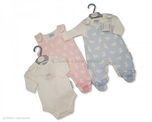 BNWT-Baby-reborn-Premature-Preemie-Baby-Boy-or-Girl-Clothes-2-Piece-dungaree-Set
