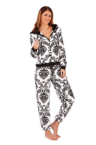 - 416iXew35XL - Boutique Womens Onesie New Ladies All In One Pyjamas Loungwear