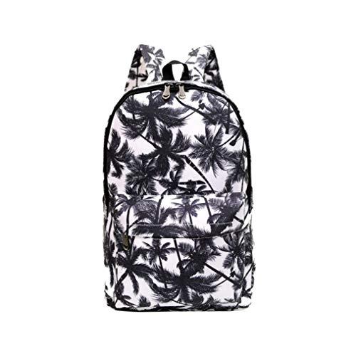 Zaino scuola media superiore casual - beautyjourney zaini per scuola ragazza ragazzi tumblr medie superiore backpack - moda studenti nylon spalla borsa scuola borsa tote zaino