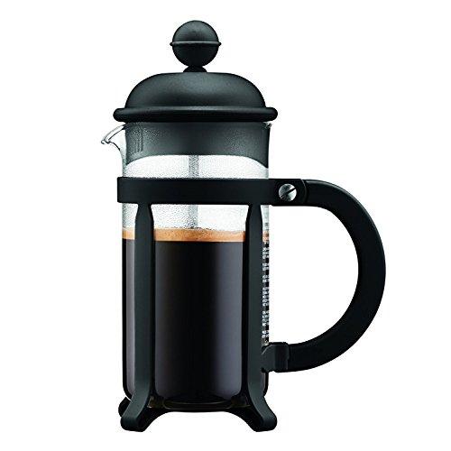 Black , 7. 5 x 13. 5 x 18. 899999999999999 cm : Bodum 1903Java Coffee Maker, 3Cups, 350ml, Layered, Black, 7. 5x 13. 5x 18. 9cm