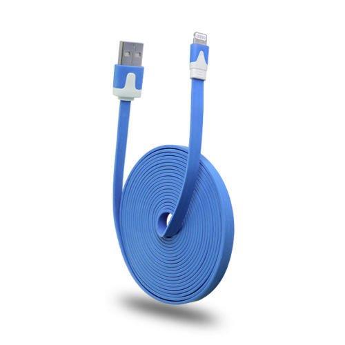 1m 2m 3m Strong Flat 8Pin USB Sync Ladekabel für iPhone 5, 5C, 5S, 6, 6Plus, 6S für iPad Mini, iPad 4G, iPod Touch 5G, Nano 7G Nano 5g Usb
