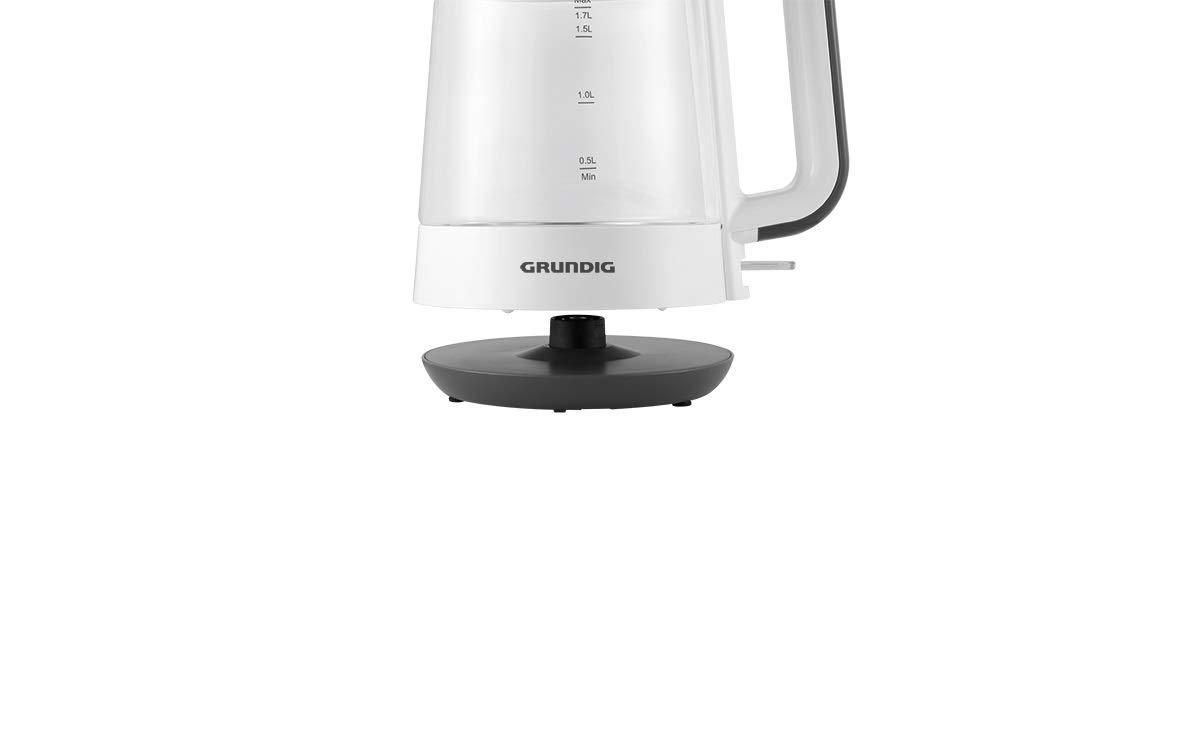 Grundig-WK-5860-Wasserkocher-Glas-2400W-17-l-2400-WeiSchwarz