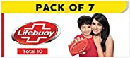 Lifebuoy Total10 Germ Protection Bathing Soap, Protects Your Skin From Viruses & Other Harmful Germs Using