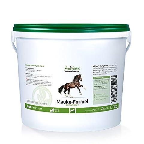 AniForte Mauke Formel 1 kg bei Mauke- Naturprodukt für Pferde - (Qualitäts-ID: 509 B 04)