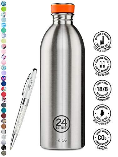 24 Bottles Bottiglia di acqua Urban 250 ml | 500 ml | 1000 ml colori diversi 24bottles, Contenuto:1000 ml, Colore:steel