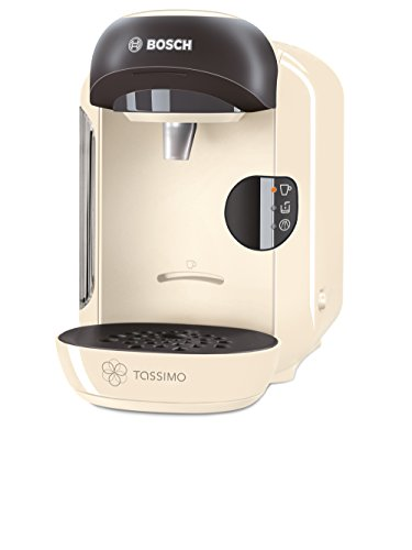 Bosch Tassimo Vivy Hot Drinks and Coffee Machine, 1300 W - Cream Test