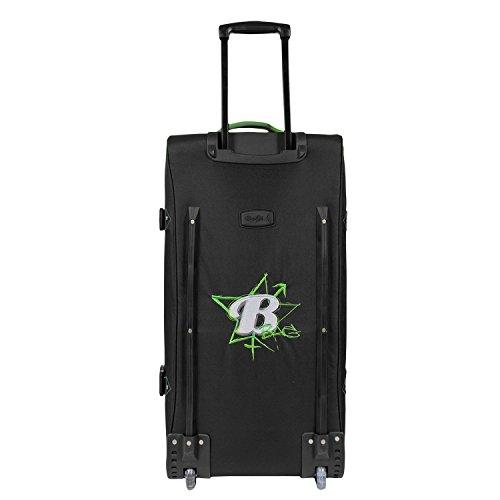 BoGi Bag Reisetasche Koffer Trolley Tasche türkis 110L grün / schwarz