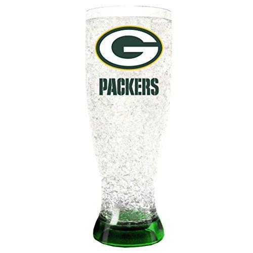 Duck House NFL Unisex Kristall Gefrierschrank pilsners, Unisex, Crystal Freezer Pilsners, Green Bay Packers, 16 Ounce
