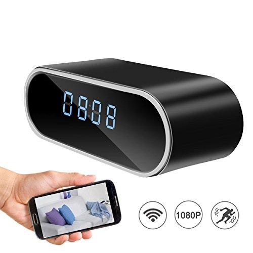 Cmara-espa-ocultada-wifi-del-reloj-de-alarma-visin-nocturna-inalmbrica-1080P-Cmara-de-vigilancia-de-la-niera-Video-de-la-seguridad-con-la-deteccin-de-movimiento-control-de-la-aplicacin-para-IOS-y-Andr