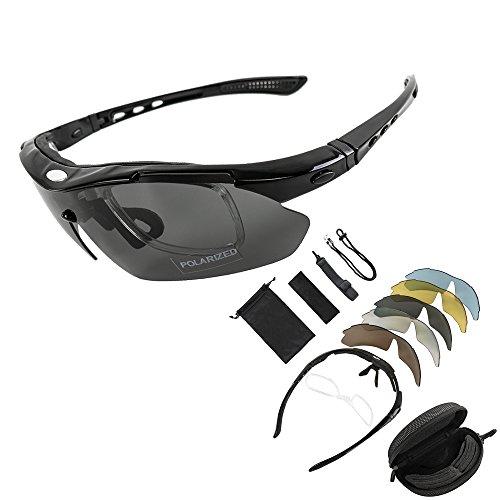 kt-supply-gafas-de-sol-deportivas-polarizadas-tr90-incluye-5-tipos-de-lentes-intercambiables-negro