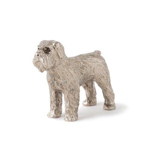Bouvier des Flandres Hergestellt in U.K. Kunstvolle Hunde- Figur Sammlung -