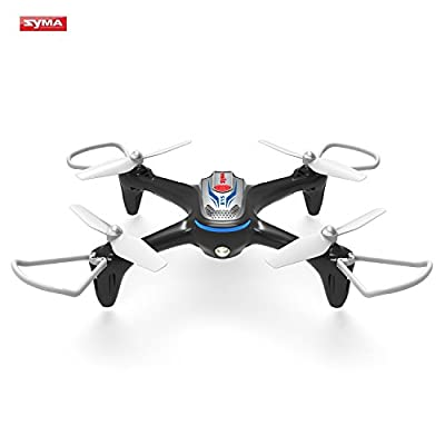 Syma X15 RC Drone 2.4GHz 4CH 6-Axis Gyro Quadcopter with Altitude Hold, 3D Flips, Headless Mode, One Key to Return and LED Lights Perfect for Beginners Kids Adults from Syma