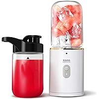 ZXX-wr Persönliche Tragbare Mixer Smoothie Mixer Saft Tasse Reise Automatische Multi-Funktions-Haushalt Obst Zwei Tasse Mixer Saft Smoothie
