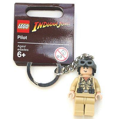 Lego Indiana Jones Pilot Key Chain Picture