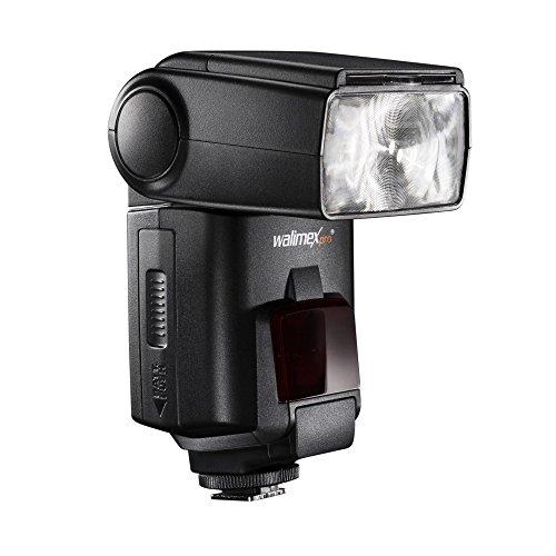 Walimex Pro 20770 Speedlite 58 HSS i-TTL Systemblitz für Nikon schwarz