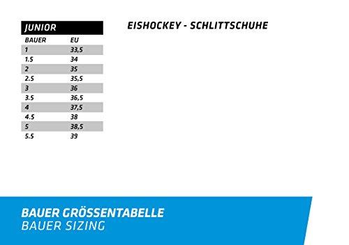 Bauer Jungen Schlittschuh Vapor X400 Junior Eishockeyschlittschuh