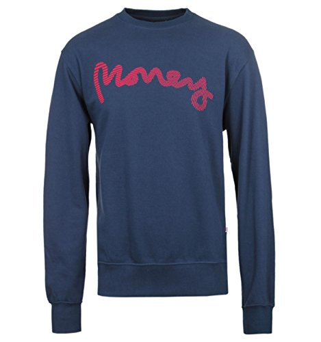 Money -  Felpa  - Uomo blu navy