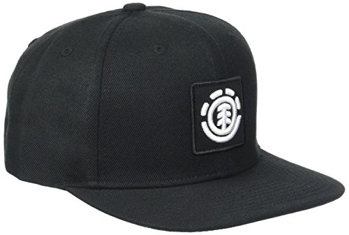 Element Herren United Cap A Kappe, Flint Black, One Size