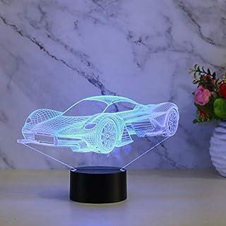 Neuwagen 3d Kleine Nachtlicht Touch Fernbedienung Lade Dekoration Geschenk Sieben Farbe Kleine Nachtlicht