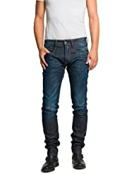 Replay Herren Slim Jeans Anbass FC Barcelona Colletion
