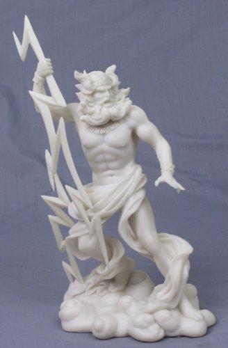 Pacific Trading King der griechischen Olympischen Götter Zeus Jupiter Statue (Jupiter-statue)