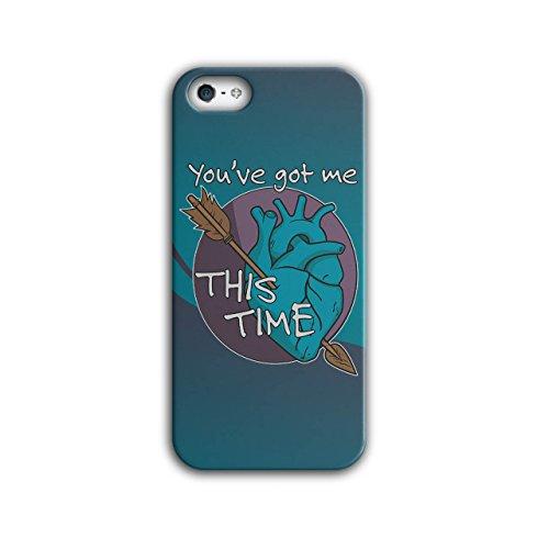 Bekam Kostüme (Sie Bekam Mich Liebe Valentine Liebe Hurts iPhone 5 / 5S Hülle |)