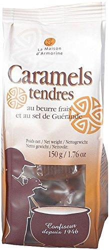 Caramels au Beurre salé, Karamellbonbons mit gesalzener Butter aus der Bretagne, 150g