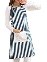 Zhhlinyuan Prima Multi-color Women Apron Quality Multi-color Kitchen Cooks Restaurant Bistro BBQ