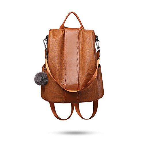 Tisdaini Mujer mochilas Moda viaje mochila casual bolso bandolera escolar Dama bolsa
