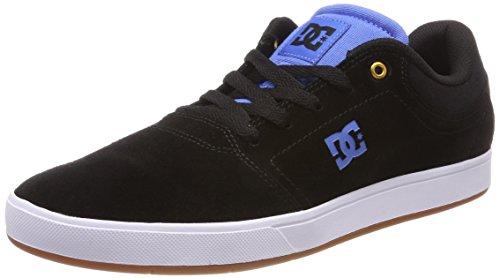 DC Shoes Crisis, Zapatillas para Hombre, Schwarz Black/Blue-Combo Xkkb, 44 EU