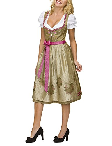 Stockerpoint Dirndl Lorena, Vestito Tradizionale Austriaco Donna Oro (gold)