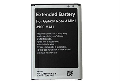 Big Mike's Replacement Battery (3200 mAh) for Samsung Galaxy NOTE 3 III