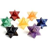 Heilung Kristalle Indien Natur Edelstein Merkaba-Stern Chakra-Set gratis Authentizität Zertifikat & eBook über... preisvergleich bei billige-tabletten.eu