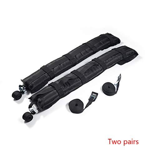 Bomcomi Universal-Selbst Inflatable Autodachträger Snowboard-Rack-Ski-Reise Gepäckträger 80KG Kapazität Gestell (Auto-ski-snowboard-rack)