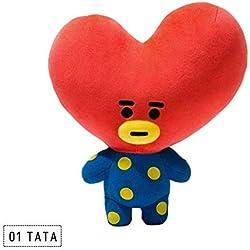 AMIIBO BTS muñeca de Peluche de Juguete Almohada bt21 muñeca periférica Jin Taiheng Amor 25 CM