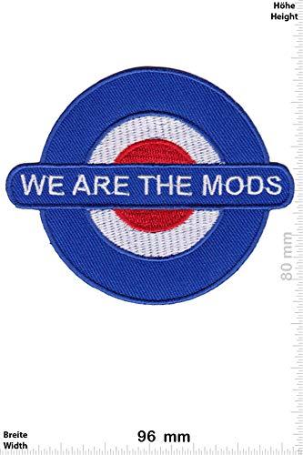 Patch - We Are The Mods - Movie - Movie - We Are The Mods - Aufnäher - zum aufbügeln - Iron On -