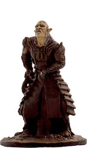 Lord of the Rings Señor de los Anillos Figurine Collection Nº 33 Orc Overseer 1