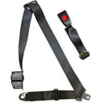 Auto Lap /& Diagonal Black SECURON Seat Belt 500//15