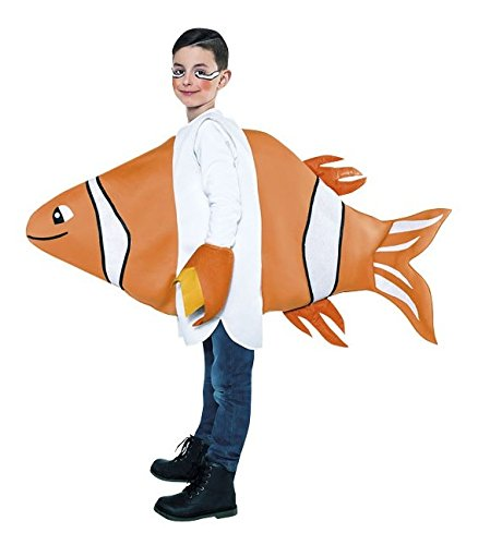 Imagen de disfraz de pez payaso  10 12 años