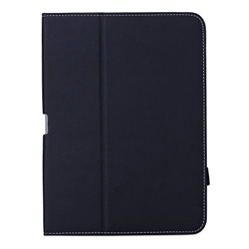 WAWO Creative Smart Folio Cover Case for Samsung Galaxy Tab S 10.5-inch Tablet - Black