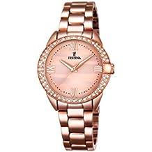 33bf4f1a07a7 Festina F16920 2 - Reloj de Pulsera analógico para Mujer con Mecanismo de  Cuarzo y