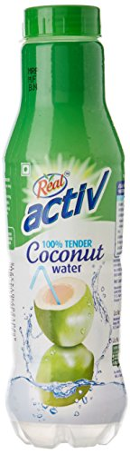 Dabur Real Active Coconut Water, 1200ml (Pack of 6)