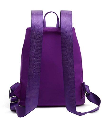 Keshi Nylon neuer Stil Damen accessories hohe Qualität Einfache Tasche Schultertasche Freizeitrucksack Tasche Rucksäcke Rosa