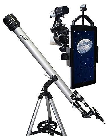 Télescope refracteur 900-60 de Seben Big Pack incl. +Seben adaptateur