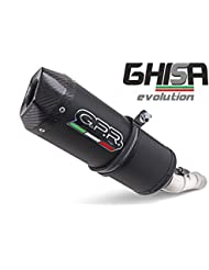 GPR ESCAPE TERMINAL-EXC KTM 520-525 2001/07 HOMOLOGATED SLIP-ON EXHAUST SYSTEM BY GPR EXHAUST SYSTEMS FUNDIDO EVO LINE